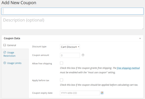 Building an Online Store with WooCommerce - Coupons